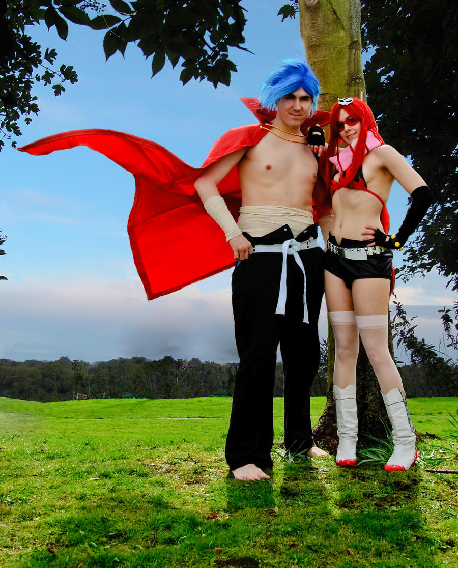 Kamina x Yoko by Foxseye on DeviantArt