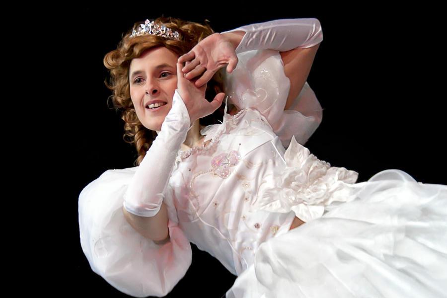 Enchanted Wedding Dress by Foxseye