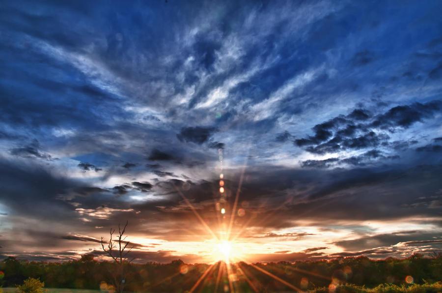 HDR Sunset SunStar by Foxseye