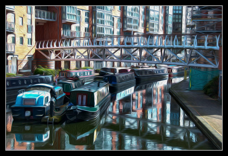 Bridge of Canal Dock by Foxseye