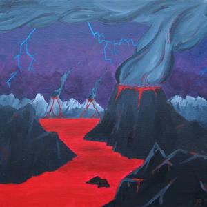 Lightning Volcano