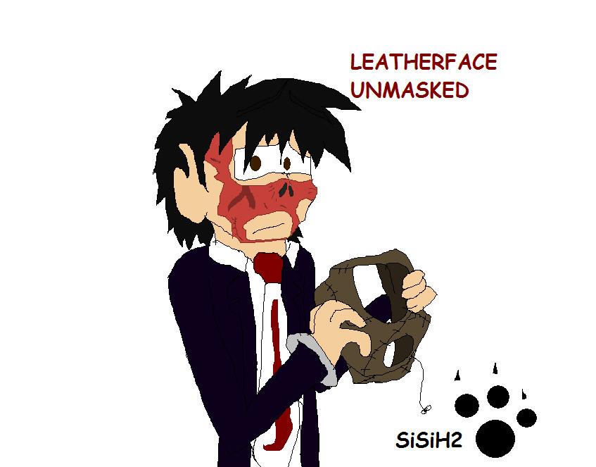 Leatherface Unmasked by SiSiH2 on DeviantArt