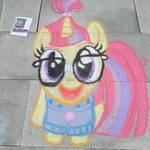 Moondancer: Chalk Drawing
