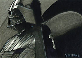 Darth and the emperor card by charles-hall