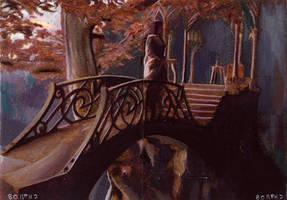 LOTR bridge scene by charles-hall