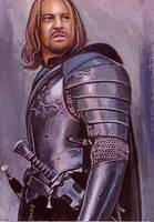 Boromir card by charles-hall