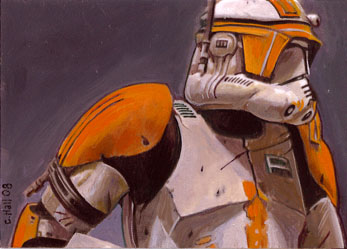 clone trooper card by charles-hall
