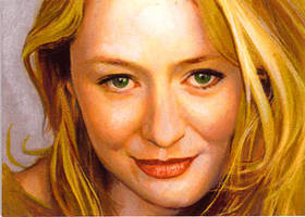 eowyn close up card by charles-hall