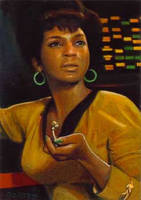Uhura card 168 by charles-hall