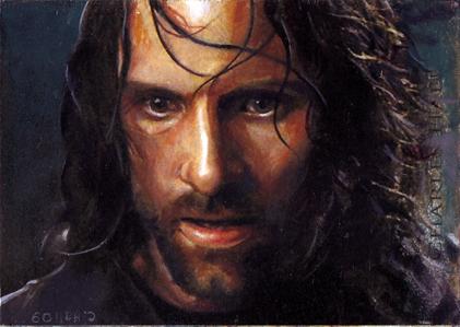 Aragorn card 381 by charles-hall