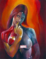Mystique? 70th ap by charles-hall