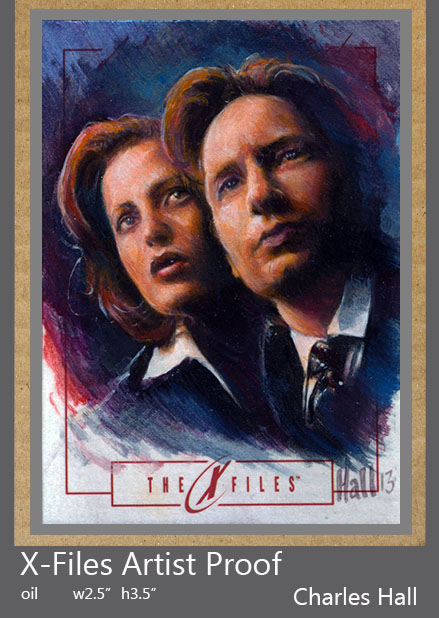 x-files artist proof 1 by charles-hall