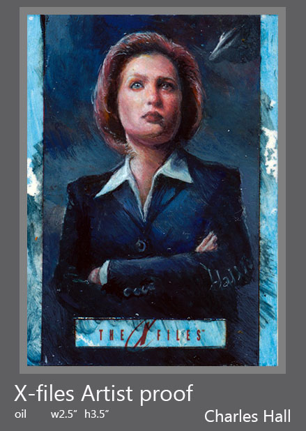 x-files artist proof 2 by charles-hall