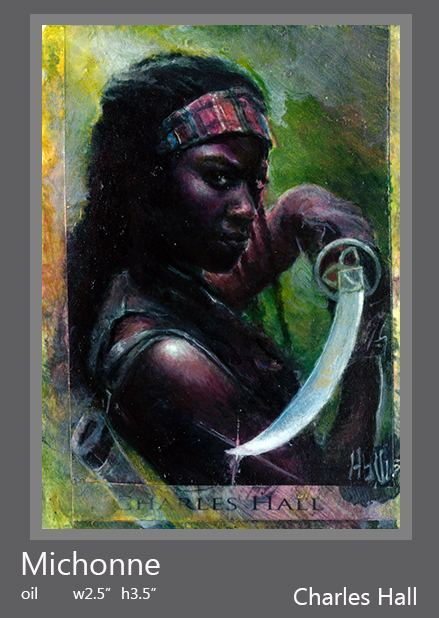 Michonne by charles-hall