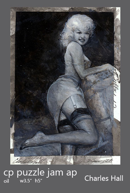 pin up artist proof 1 by charles-hall