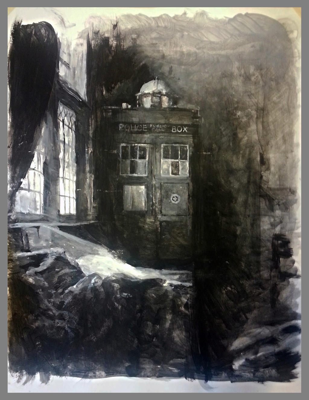 Tardis vermeer study by charles-hall