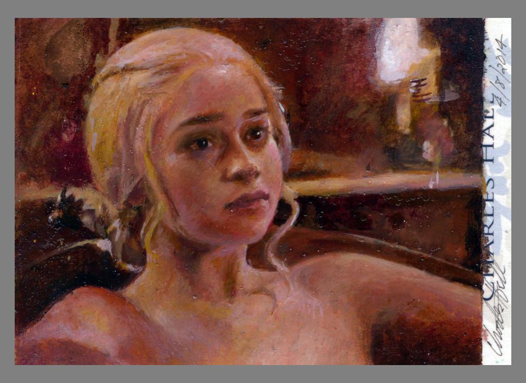 daenerys targaryen psc by charles-hall
