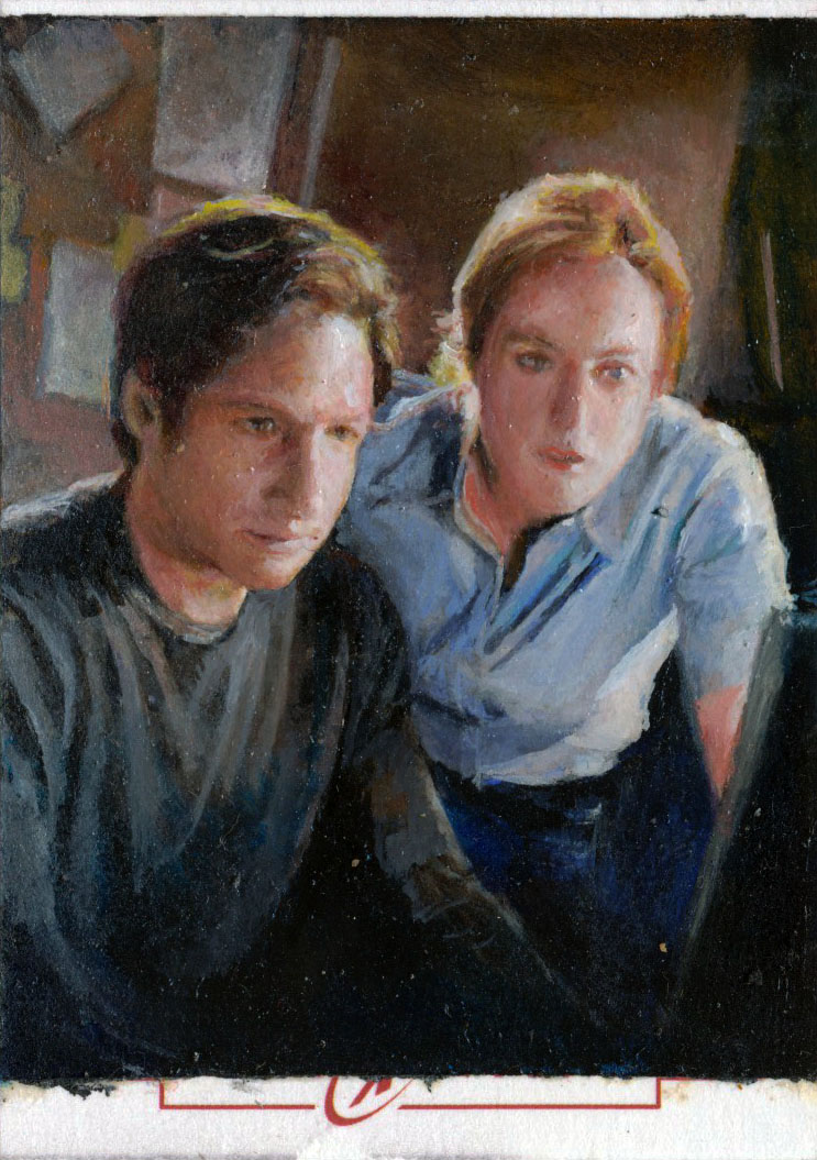 x-files artist proof by charles-hall