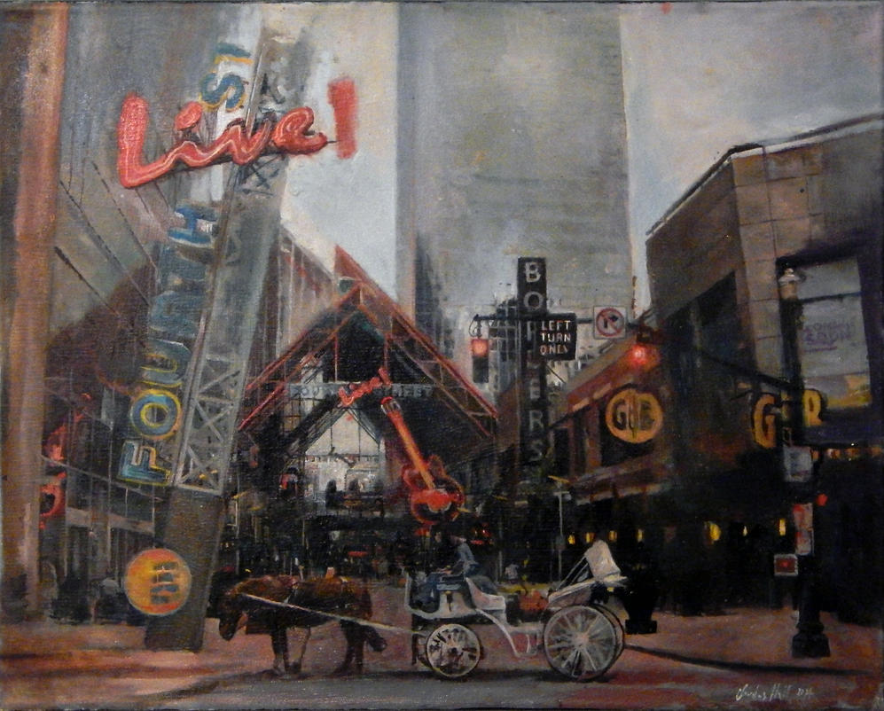 fourth street live Lousiville KY by charles-hall