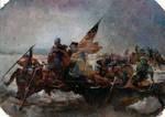 captain americas crossing the delaware