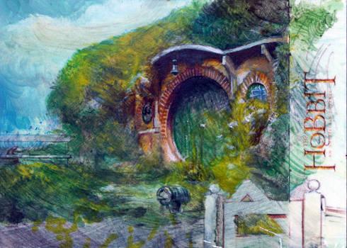 Hobbit sketch card jam