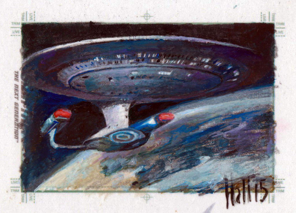 Star trek TNG sketch 7 by charles-hall