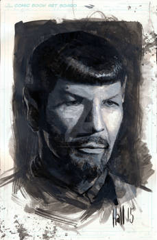 Spock sketch (no shave November)
