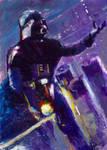 Star wars masterwork oil sketch #19