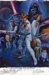 Star Wars Chrome Perspectives sketch card 2