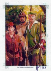 star trek tng 2 sketch card 12 by charles-hall