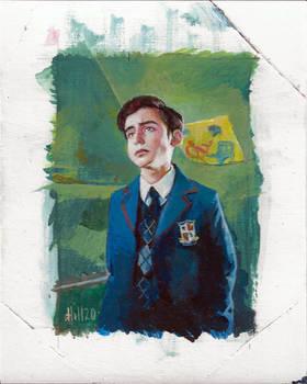 Umbrella Academy sketch card 1