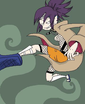 Anko Kick by vomitous