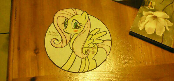 FLUTTERSHY by Ousachananimelover