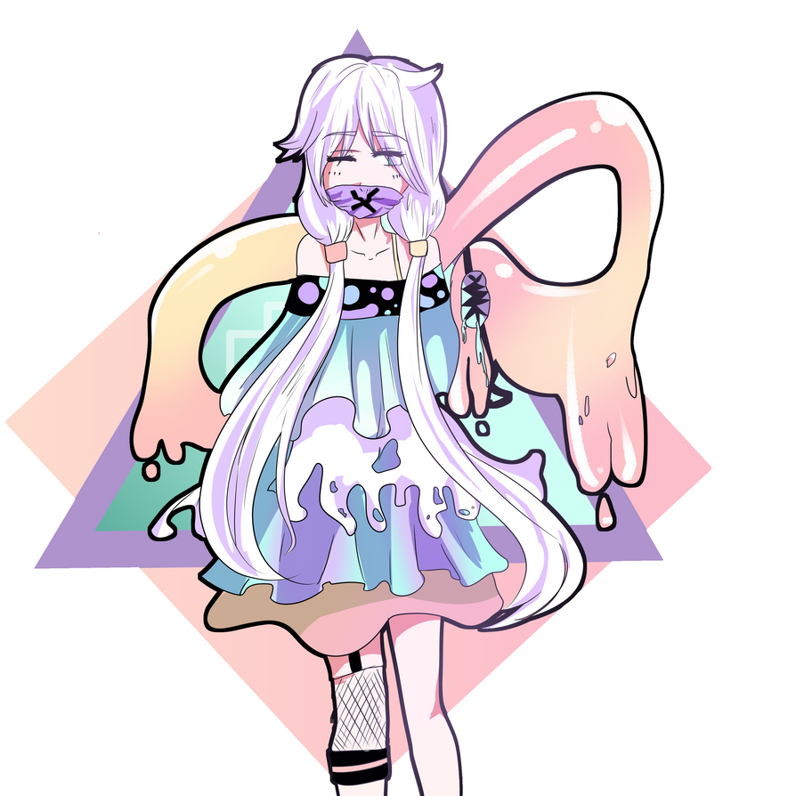 Pastel gore by Vocaloidevil
