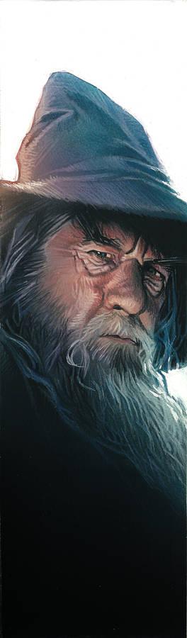 Gandalf book mark