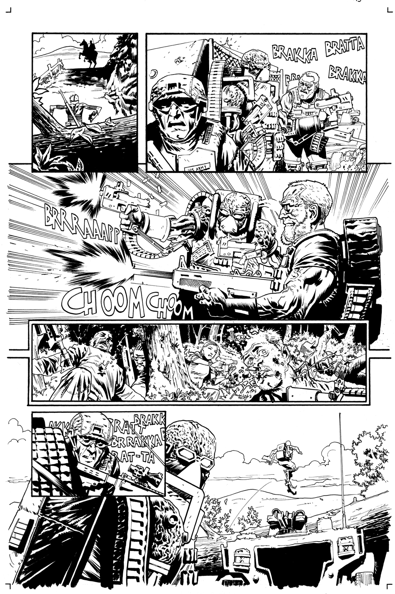 Warlords of Appalachia #3 page13 by JonasScharf