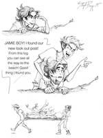 Peter and Jamie by neverland23