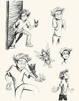 12 Years Old - Sketches by neverland23