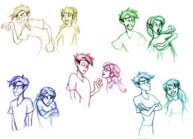 Peter and Wendy by neverland23