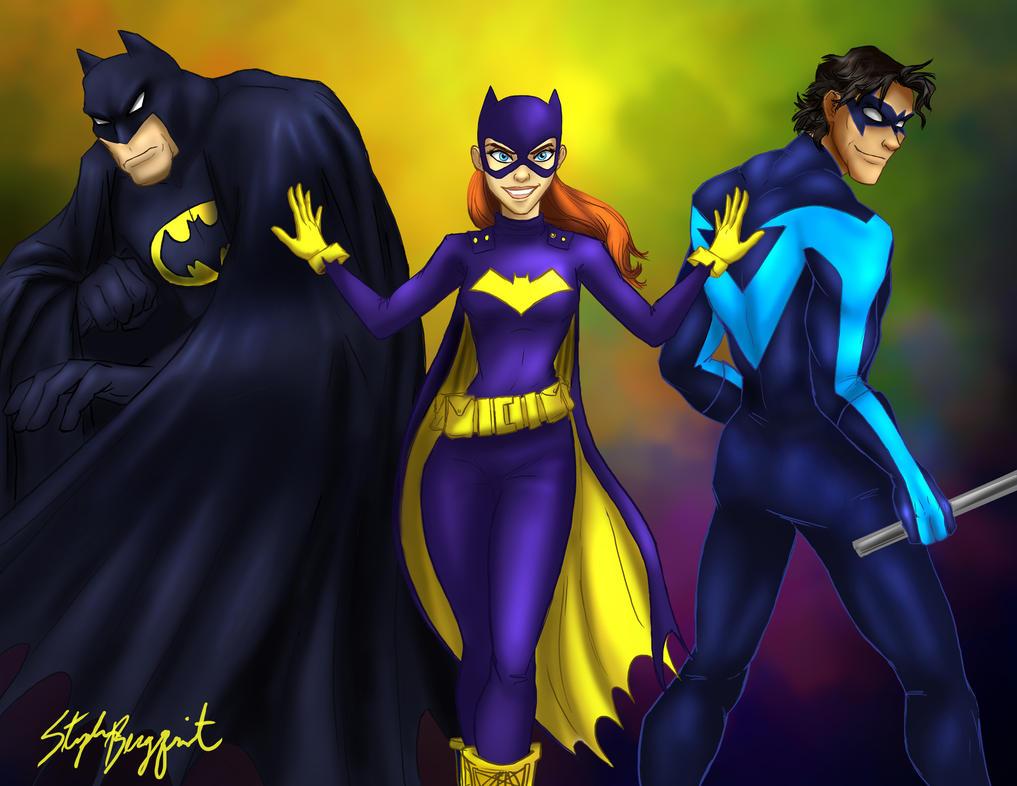 Batgirl Don't Need No Man by neverland23
