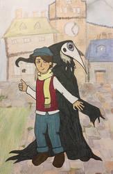 Crow by alleleallie