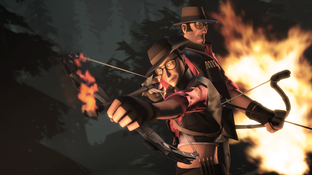 how to get the huntsman in tf2