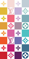 Louis Vuitton Multicolor Wallpaper