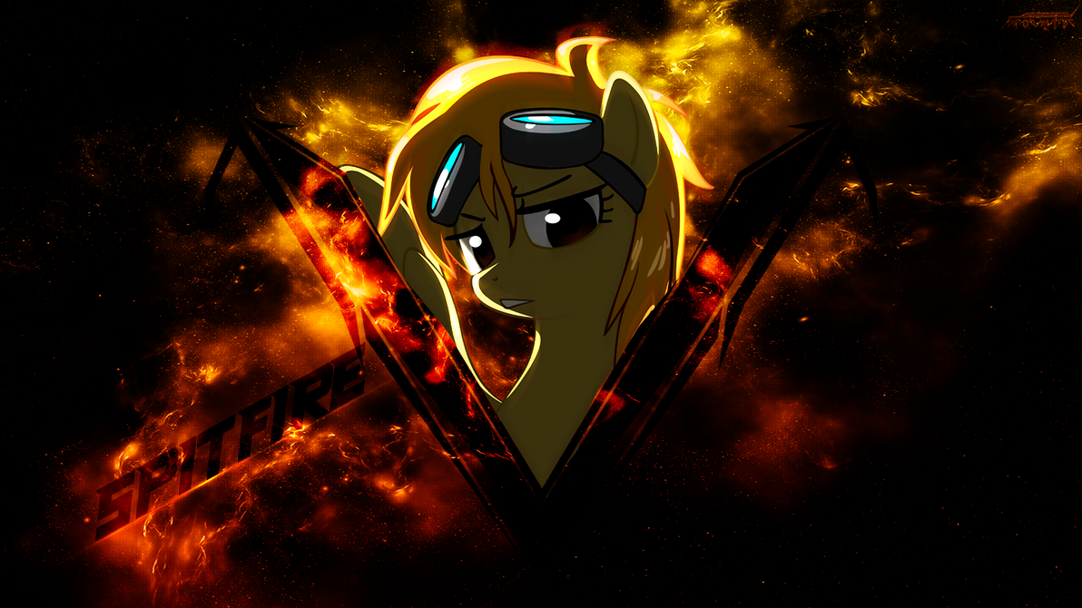 Spitfire Wallpaper by OfficialApocalyptic
