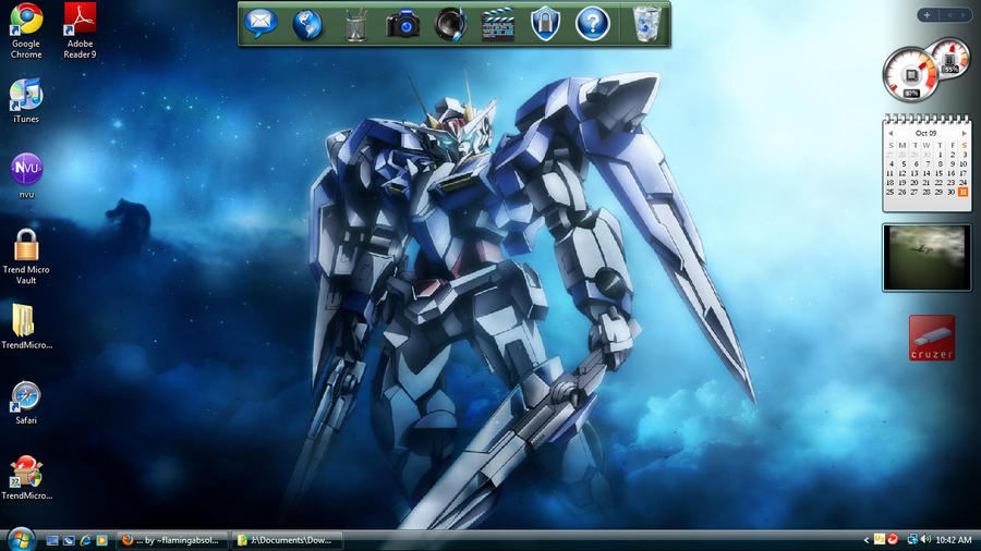 gundam 00 exia. Gundam 00 Exia Desktop by