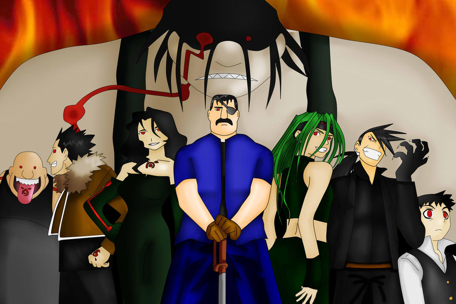 The Seven Deadly Sins by meganxichigo on DeviantArt