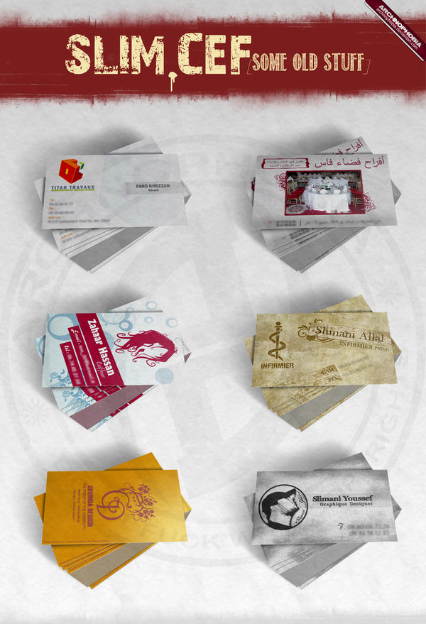 Cards : Old Stuff (Pack 01)...