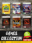 Games Collection Pack #05 (ICONS PACK)