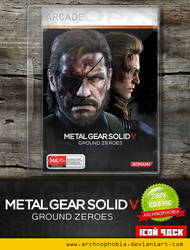 Metal Gear Solid V - Ground Zeroes (Icon Pack)