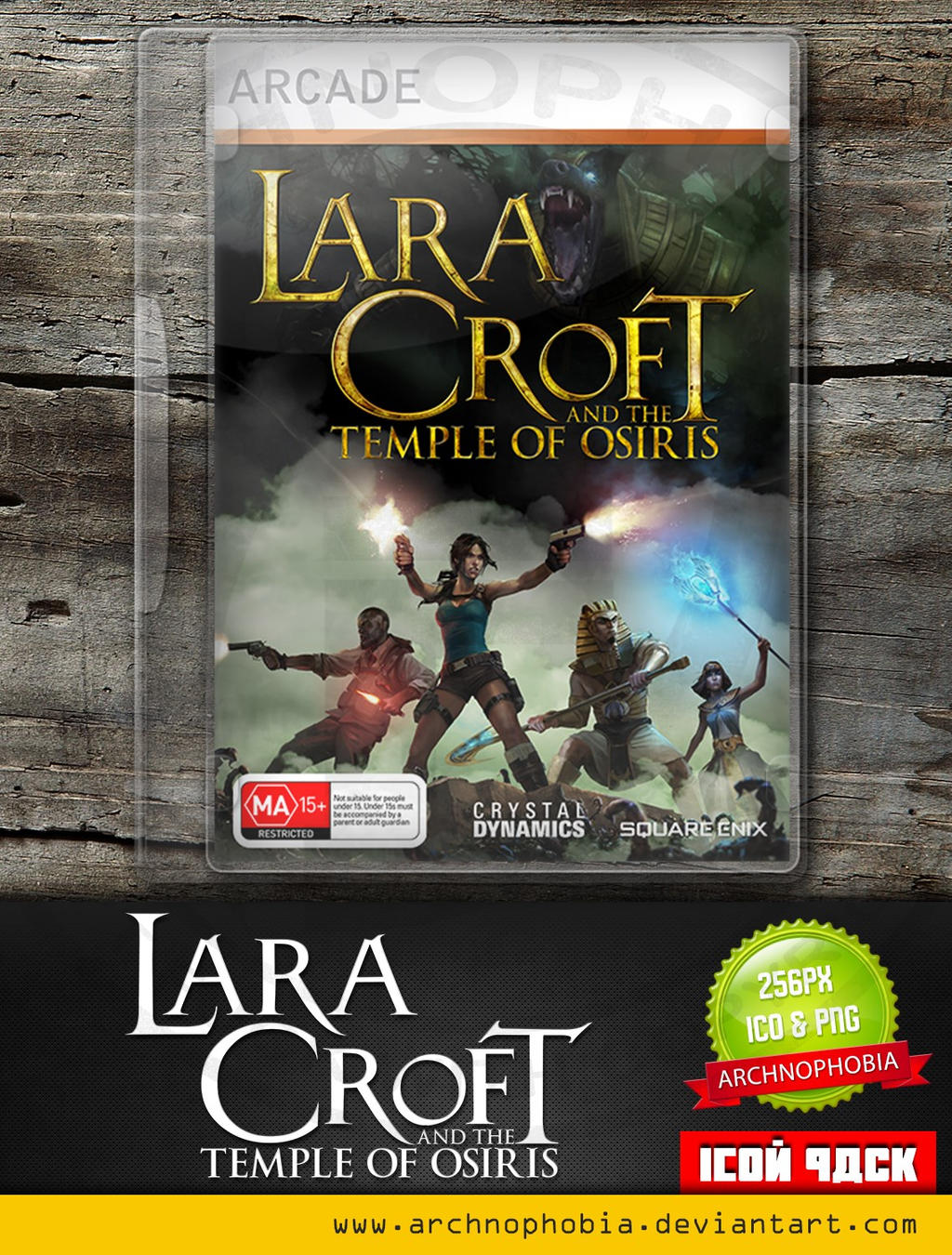 Lara Croft And The Temple Of Osiris (Icon Pack)